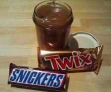 Rezept Snickers-TwixAufstrich von Thermi_Chrissy - Rezept der Kategorie Saucen/Dips/Brotaufstriche