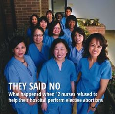 Doctors and nurses heal lives, not destroy them. Inspiring: http://www.alliancedefendingfreedom.org/Faith-and-Justice/5-3/CoverStory