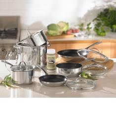 Princess Heritage® Stainless Steel  11-Piece Healthier Cooking Set  (6782)