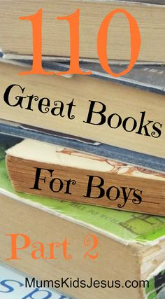 More favourites from my 3 boys, and the boys in my library classes. This selection is for ages 10 to teen.  It includes links to Part 1, which is for ages 3 to 10. My daughter enjoys a lot of these books too. Not just for boys!