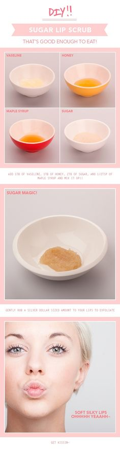 DIY Sugar Lip Scrub Pictures, Photos, and Images for Facebook, Tumblr, Pinterest, and Twitter