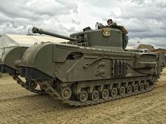 A22F  Infantry Tank  Mark IV    Churchill  VII –   in the tank Museum of Bovington