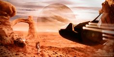 "Consulta mi proyecto @Behance: ""Space desert Landscape"" https://www.behance.net/gallery/46189165/Space-desert-Landscape"