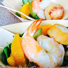 レシピとお料理がひらめくSnapDish - 3件のもぐもぐ - Prawns, Avocado, Mango and Scallops by Rachelle Elise Etienne Breidenbach