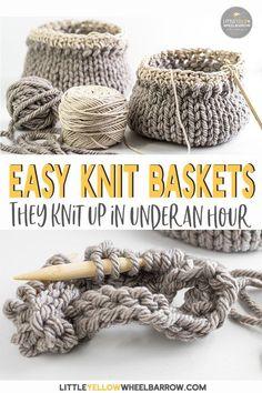 Cute DIY baskets you