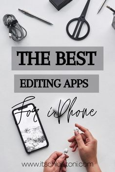 Looking for the best apps to up your photography editing? I've put together the best editing apps for bloggers (or anyone looking for good photo editing apps.) These are iPhone apps that range from editing software, to filter apps. The ultimate list of everything you need. #photoeditingappsfree #imageediting Best Editing App, Good Photo Editing Apps, Image Editing, Photography Editing, Amazing Photography, Apps For Bloggers, Best Apps, Helpful Tips, Filter