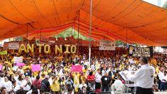 Con más de 10 mil asistentes, Antonio Padierna hace su cierre de campaña en Azcapotzalco