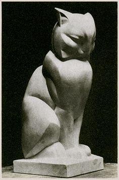 Art Deco Cat. Joel & Jan Martel, c1925 Paris.