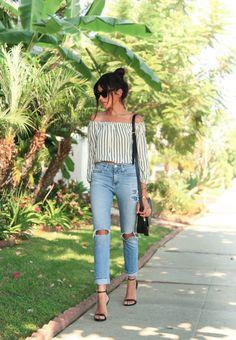 Summer in LA & My Petite Girl Style Tips - Sazan