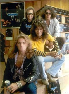 Van Halen The early days.