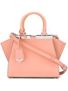 FENDI Mini '3Jours' Crossbody Bag. #fendi #bags #shoulder bags #hand bags #leather #crossbody #