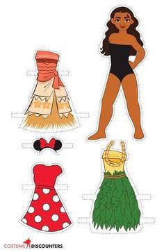 Image result for moana paper masks