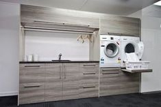 Ezy Kitchens showroom Invercargill - contemporary - laundry room - other metro - Hamish Ballantyne - #Ballantyne #Contemporary #Ezy #Hamish #Invercargill #Kitchens #laundry #metro #Room #showroom