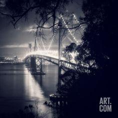 Living room Bay Bridge, All Dressed Up, San Francisco Photographic Print by Vincent James at Art.com