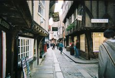 The Shambles, York - Europe's best preserved medieval street