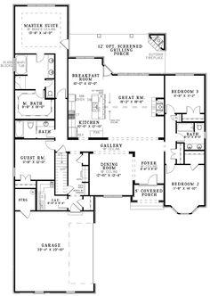 Luxury House Gallery Room Open Floor Plan House Plans : GNIBO