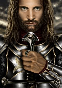 Aragorn son of Arathorn, Estel, Elessar Telcontar, The Dunadan, Strider, Wingfoot, Envinyatar, Thorongil:          Dunedain Ranger, heir of Isildur and rightful claimant to the thrones of Arnor and Gondor, Wielder of Anduril the flame of the west - the sword that was broken but has been reforged, The man of three races:  Human / Elf / Valar