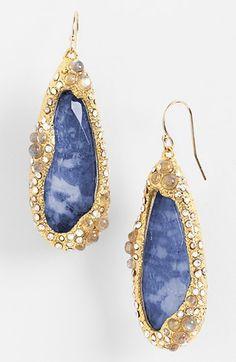 Jardin de Papillon Teardrop Earrings