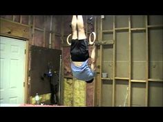 Gymnastics Ring Strength - Front Lever Training - YouTube
