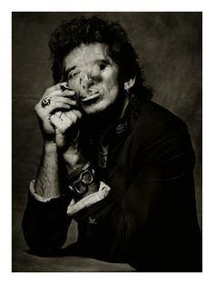 Keith Richards by Albert Watson (1988).
