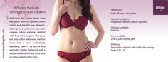Tips of the Day : Perfect Bra For Deep neck outfit  Visit us at www.mayalingerie.com  Shop at: http://prettysecrets.com/maya-maroon-padded-underwired-push-up-bra-hipster-set