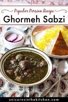 Here is the most popular Persian recipe: authentic Ghormeh Sabzi! Learn how to make this classic Persian dish with my step-by-step tutorial and instructions to make it on the stove top, in the instant pot or crockpot using fresh or dry herbs. Everything you need to know about this Persian classic is here!