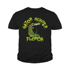 Black Gator Hunter Florida Kids' Shirts #gift #ideas #Popular #Everything #Videos #Shop #Animals #pets #Architecture #Art #Cars #motorcycles #Celebrities #DIY #crafts #Design #Education #Entertainment #Food #drink #Gardening #Geek #Hair #beauty #Health #fitness #History #Holidays #events #Home decor #Humor #Illustrations #posters #Kids #parenting #Men #Outdoors #Photography #Products #Quotes #Science #nature #Sports #Tattoos #Technology #Travel #Weddings #Women