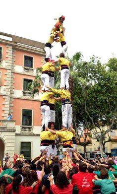 4de7. Castellers de Castelldefels.