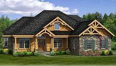 Plan 3883JA: Rustic House Plan With Walkout Basement