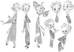 博客帖子 - Character Design Page