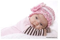 Lexi's Pink Crocheted Cloche