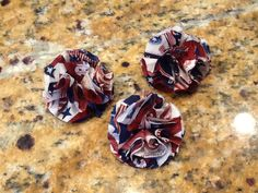 4th of July (Red, White, and Blue) flower
