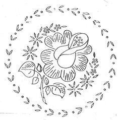 rose+garland+%28hand+embroidery+pattern%2Ftransfer%29
