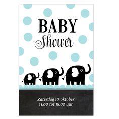 uitnodigingskaart babyshower
