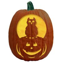 NightOwlPumpkinCarvingPattern
