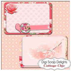 Cottage Chic Pocket Journal Cards Project by DigiScrapDelights