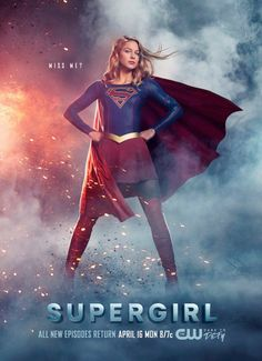 It's almost time for the return of Supergirl!!