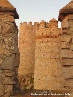 Detalle Murallas de Avila,  Spain http://whc.unesco.org/en/list/348