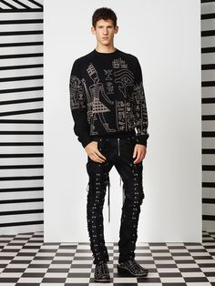 Jean Paul Gaultier Spring/Summer 2015 Collection image Jean Paul Gaultier Men 2015 Spring Summer Collection 025