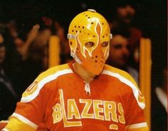 Autograph Authentic Bernie Parent Philadelphia Blazers Autographed WHA Mask Close Up 8 x 10 in. Photo, As Shown Flyers Hockey, Hockey Goalie, Hockey Games, Ice Hockey, Hockey Helmet, Rangers Hockey, Bruins Hockey, Bernie Parent, Philadelphia Sports
