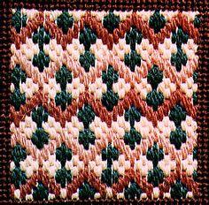 Photo of Dunes and Cactus Decorative Stitch