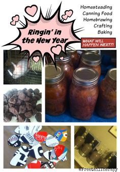 Ringin' in the New Year New Year Goals, Canning Recipes, Home Brewing, Therapy, Shit Happens, Baking, Crafts, Food, Bread Making