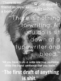 Hemingway on writing  http://kelshow.wordpress.com/