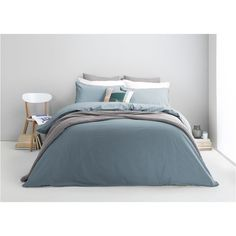 Alexia 100% Stonewashed Cotton Bed Set, Double, Blue Slate from Made.com. NEW Express delivery. You know that favourite pair of jeans you've got? Im..