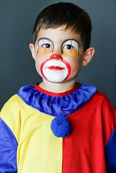Clown Makeup Tutorial for Child