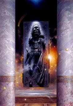 Darth Vader in Carbonite by Tsuneo Sanda
