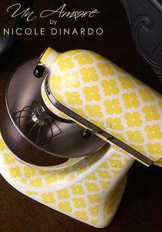 Notions from Nonny: Customize your Kitchen Aid Mixer
