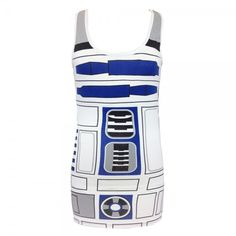 I Am R2D2 Tunic Tank from We Love Fine.
