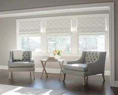 transitional-window-treatment-Roman-shades