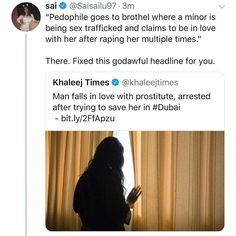 Rape is still rape. You're saving no one you sick fuck. All of you should be killed Intersectional Feminism, Anti Racism, Patriarchy, Equal Rights, Faith In Humanity, Social Issues, Lgbt, Things To Know, Social Justice